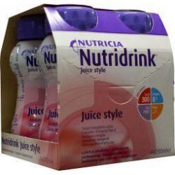 Juice style aardbei 4 x 200ml
