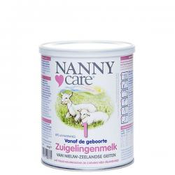 Nannycare zuigelingenvoeding geitenmelk