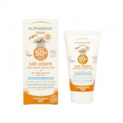 Sun milk baby SPF50+ bio