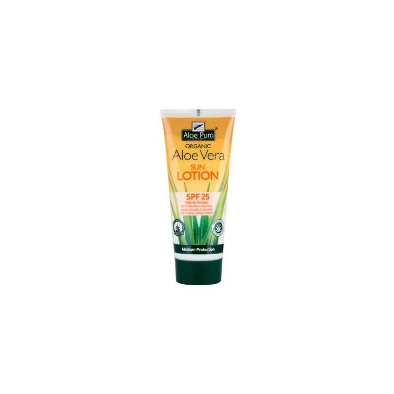 Aloe pura organic aloe vera zonnelotion SPF25