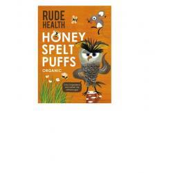 Honey spelt puffs