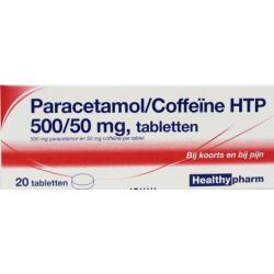 Paracetamol 500 mg coffeine