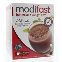 Intensive milkshake chocolade 9 stuks