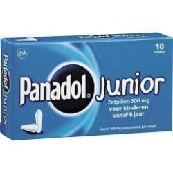 Panadol junior 500 mg