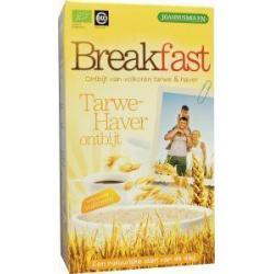 Breakfast tarwe haver ontbijt