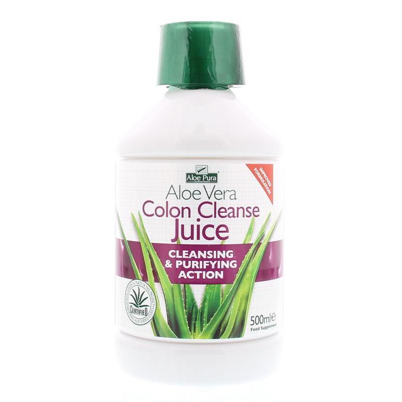 Aloe pura aloe vera plus colon cleanse