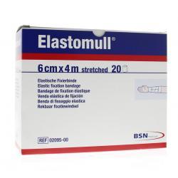 Elastomull 6 cm 2095-4M plastic verpakt