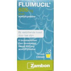 Fluimucil 600 mg