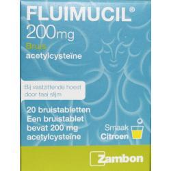 Fluimucil 200 mg suikervrij