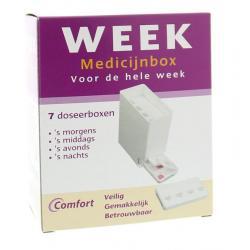 Medicijnbox 7 dagen incl dagverdeling