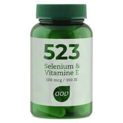 523 Selenium 100 mcg / vitamine E 300IE