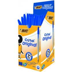 Cristal pennen blauw doos