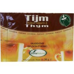 Tijm tomillo thee