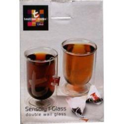 Dubbelwandig thee glas