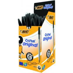 Cristal pennen zwart doos