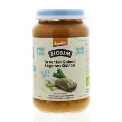 Gemengde groenten quinoa 8 maanden Demeter