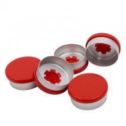 Aluminium felskap rood kombi/r rood 20 mm