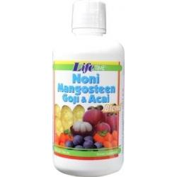 Organic noni mangosteen goji