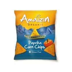 Corn chips paprika bio