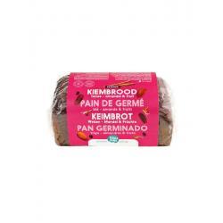 Gekiemd brood zuidvruchten amandel