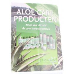 Aloe care poster A4