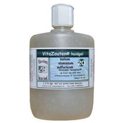Kalium aluminium sulfuricum huidgel Nr. 20