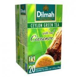Ceylon green tea met kaneel