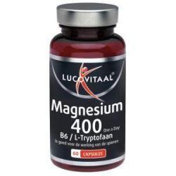 Magnesium 400 met B6 en L-tryptofaan