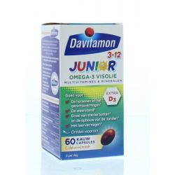Junior 3+ omega 3 visolie