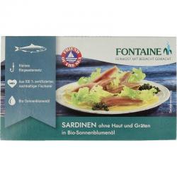 Sardines zonder huid en graat