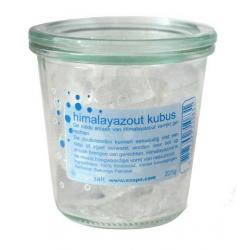 Himalayazout kubus raspkristallen