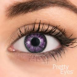 1-Dag kleurlens 8P violet