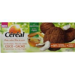 Cacao kokos koek