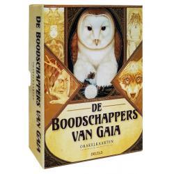 Boodschappers van Gaia boek en orakelkaarten