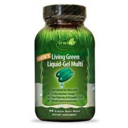 Living green liquid gel multi for men