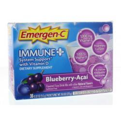 Emergen-C immune+ zwarte bes