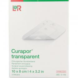Transparant 10 x 8 cm steriel