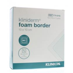 Foam silicone border 10 x 10 cm