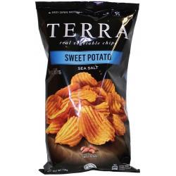 Chips sweet potato