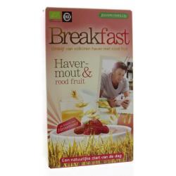 Breakfast havermout rood fruit