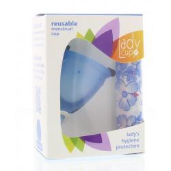Menstruatie cup blue maat S