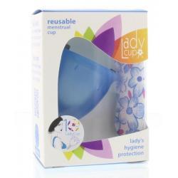 Menstruatie cup blue maat L