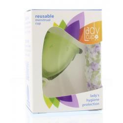 Menstruatie cup green maat S