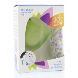 Menstruatie cup green maat L