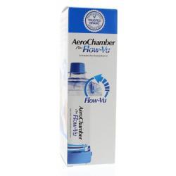 Aerochamber + flow VU mondstuk blauw