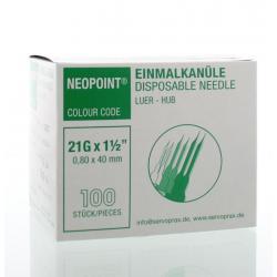 Injectienaald steriel 0.8 x 40
