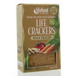 Life crackers groente ongezouten