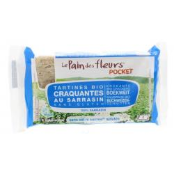 Boekweit cracker zonder zout pocket