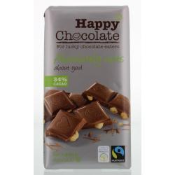 Happy chocolate melk 34% hazelnoot
