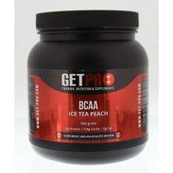 BCAA ice tea peach